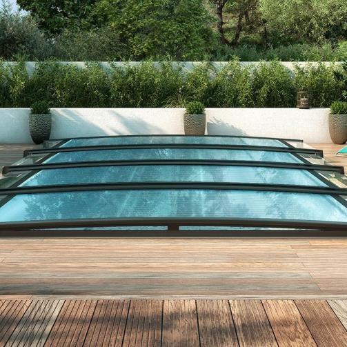 Zwembad overkappen